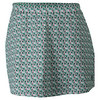 K-SWISS Women`s 66 A-Line Tennis Skort Gull Gray and Dynasty Green Print