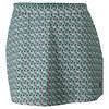 K-SWISS Women`s 66 A-Line Tennis Skort Gull Gray and Dynasty Green Print