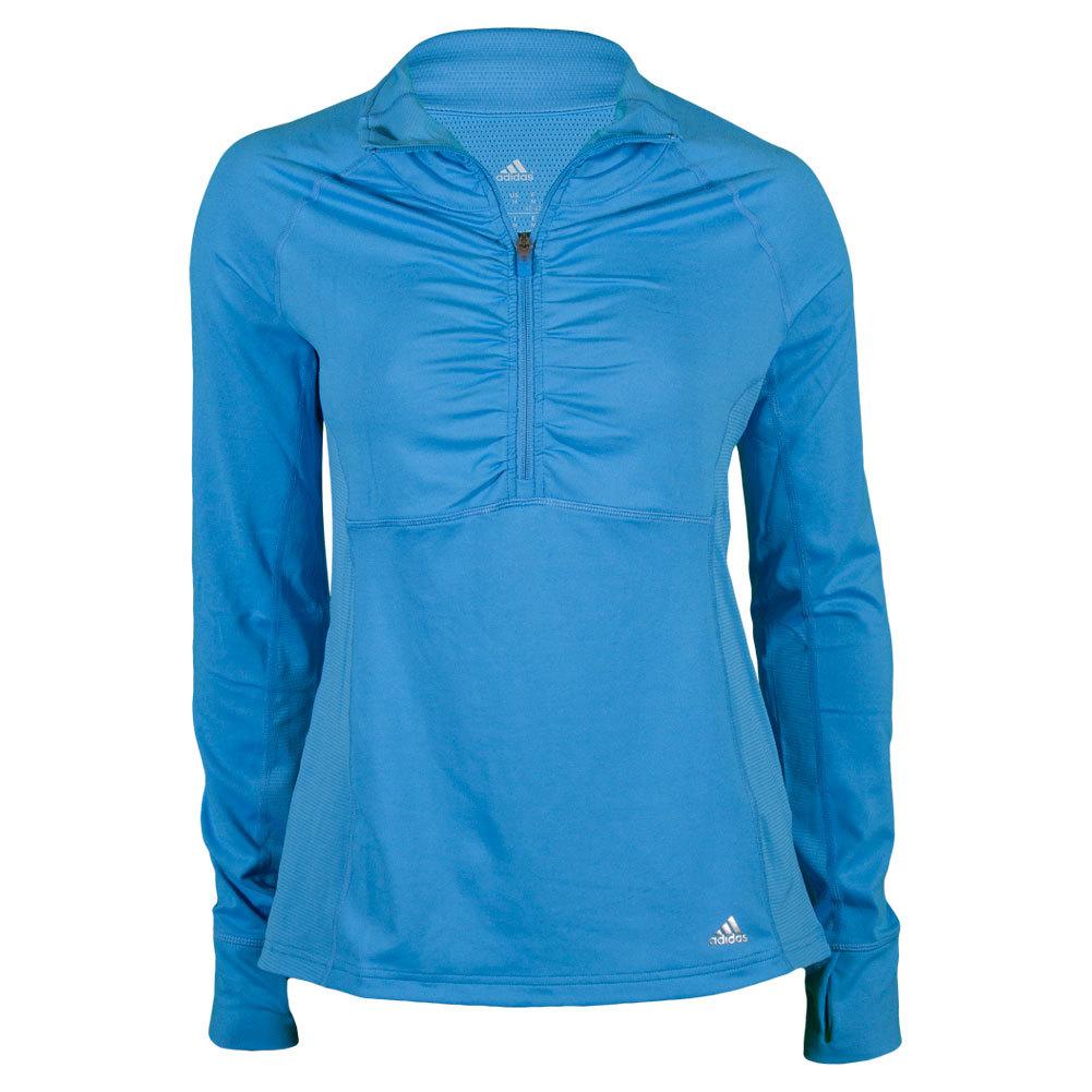 Women`s Ultimate Half-Zip Pullover Lucky Blue
