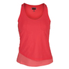 BOLLE Women`s Special Effects Layered Tennis Tank Peach