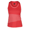 BOLLE Women`s Special Effects Tennis Tank Cantaloupe and Peach