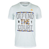 ADIDAS Men`s Defend the Court Berlin Tennis Tee White