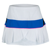 LUCKY IN LOVE Women`s Flounce Tennis Skort White