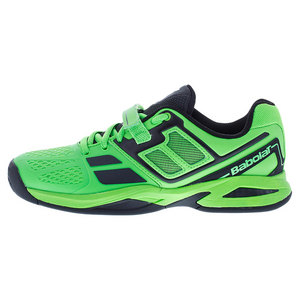 Juniors` Propulse BPM Tennis Shoes Black and Lime