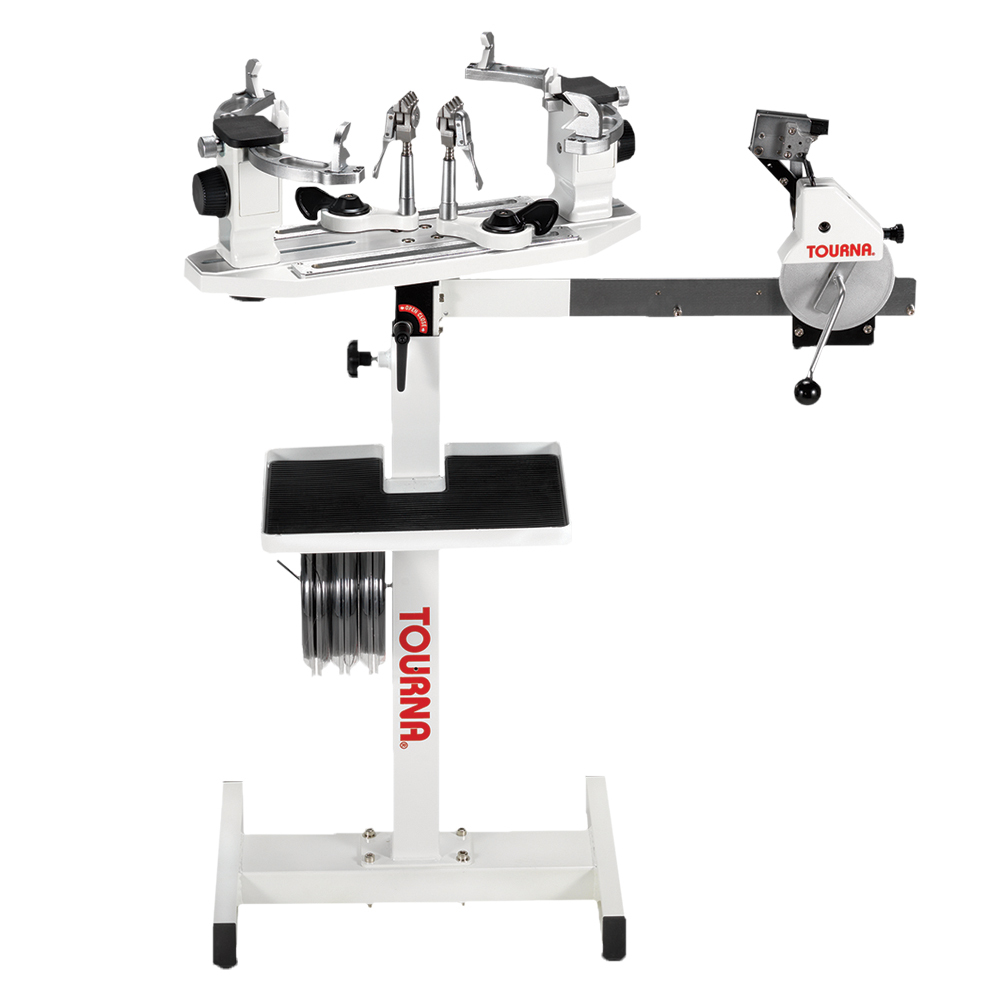 racquetball racquet stringing machine