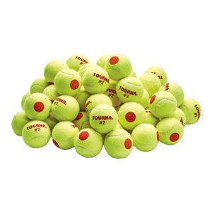 TOURNA STAGE 2 TENNIS BALLS 60 COUNT