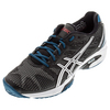 ASICS Men`s Gel-Solution Speed 2 Tennis Shoes Onyx and Silver