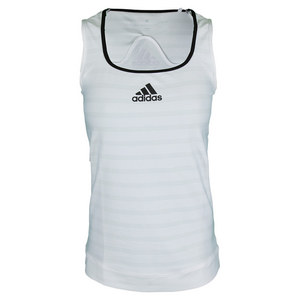 Women`s All Premium Tennis Tank White