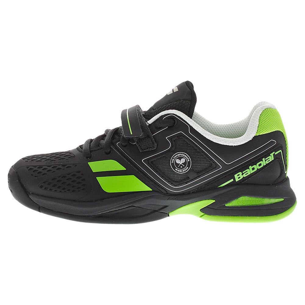 babolat juniors propulse wimbledon tennis shoes