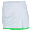 BOLLE Women`s Green with Envy 14 Inch Tennis Skort White