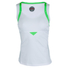 BOLLE Women`s Green with Envy Tennis Tank White