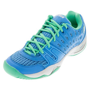 Women`s T22 Tennis Shoes Sky and Mint
