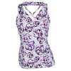 ELEVEN Women`s Double Cross Tennis Tank Fleur de Monde
