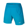 NIKE Men`s Top Gun Gladiator Premier Tennis Short Vivid Blue