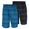 WILSON Men`s Stripe Stretch Woven 10 Inch Tennis Short