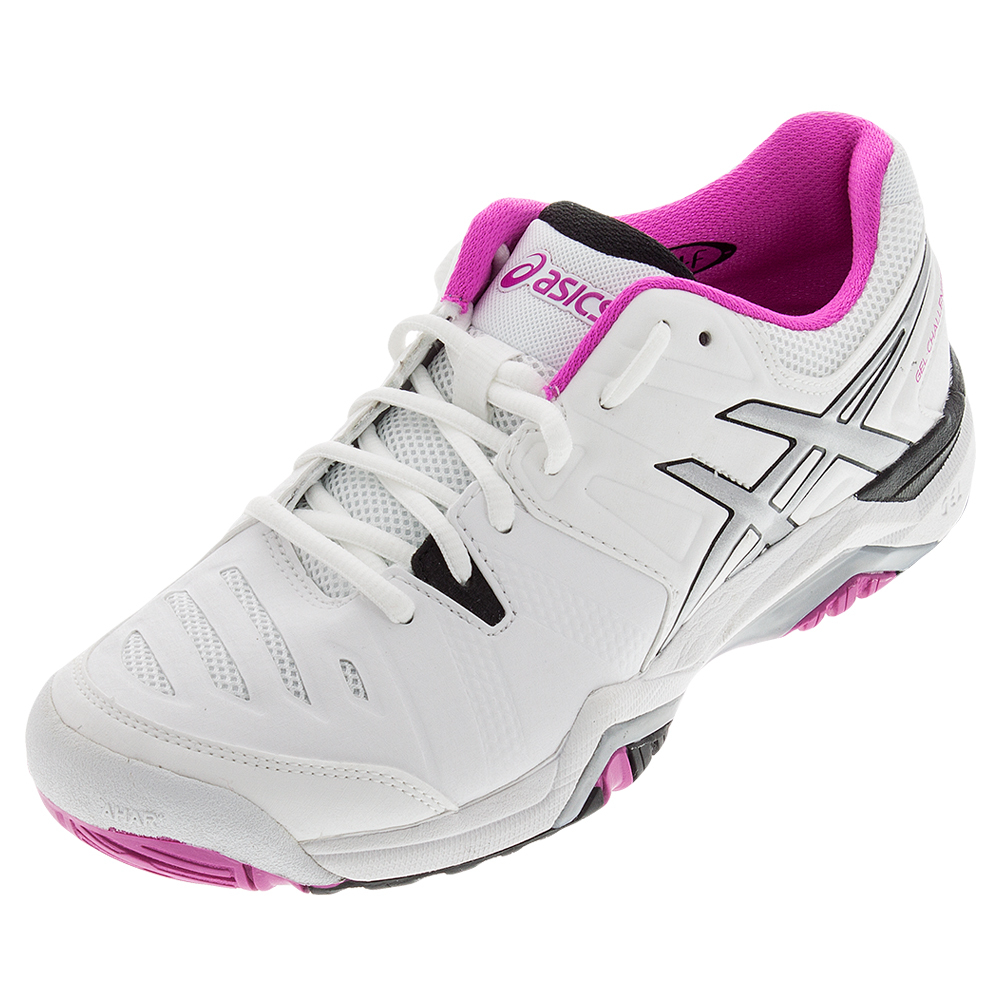Women's Gel- Challenger 10 Tennis Shoes White And Pink Glo