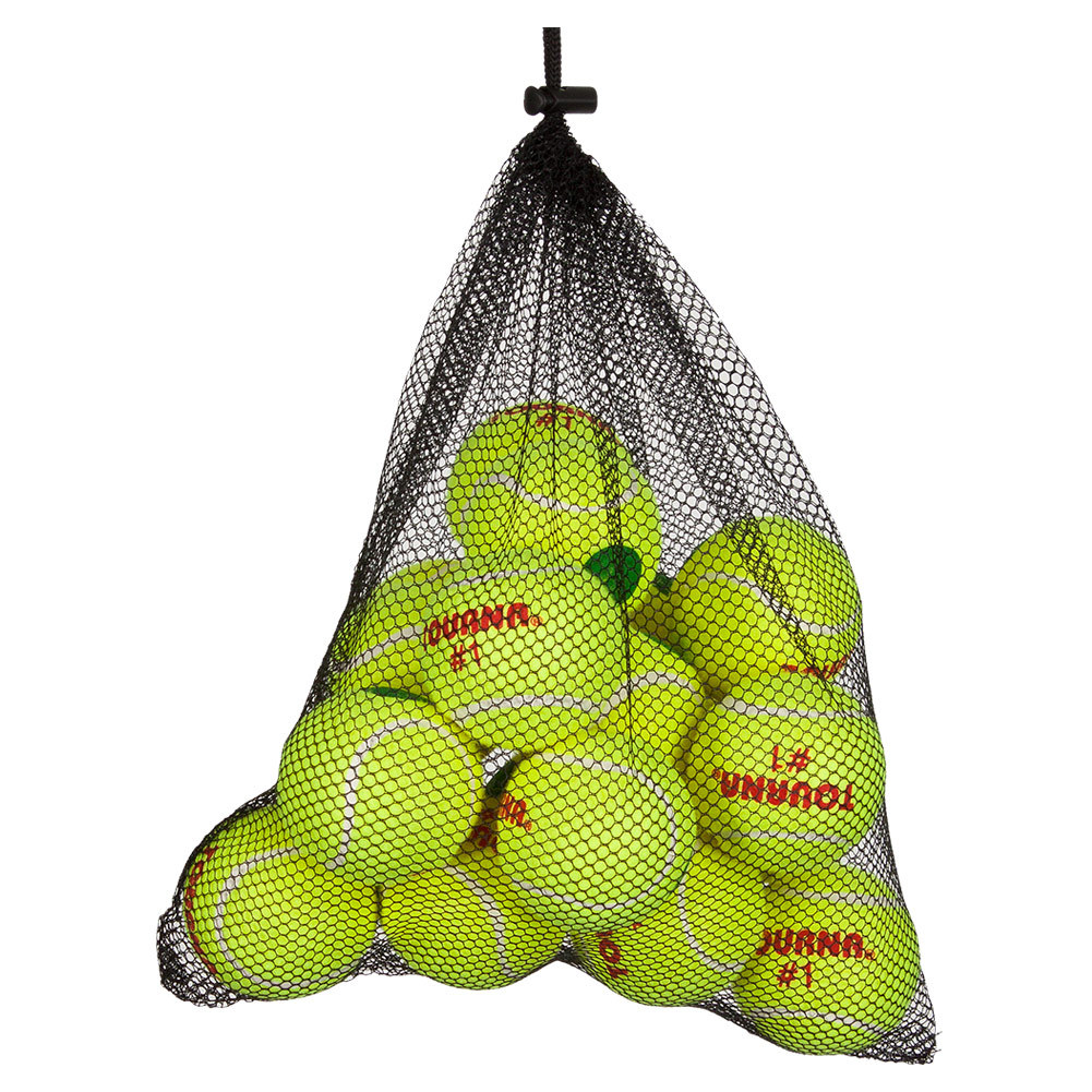 Green Dot Tennis Balls Mesh Bag 18 Count