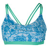 DENISE CRONWALL Women`s Tennis Bra Top Rivier Print