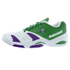 BABOLAT Men`s SFX All Court Wimbledon Tennis Shoes White and Green