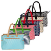 AME AND LULU Women`s Tennis Court Tote Bag