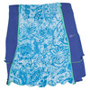 DENISE CRONWALL Women`s Tennis Skort Blue and Riviera Print