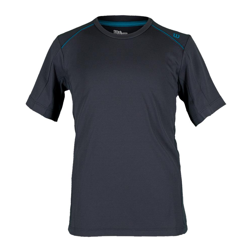 Boys ` Nvision Elite Tennis Crew Coal