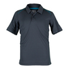 WILSON Boys` Nvision Elite Tennis Polo Coal