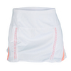 LUCKY IN LOVE Women`s Running Skort White