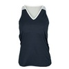 CHRISSIE BY TAIL Women`s Maureen V-Neck Tennis Tank Slate