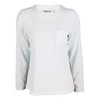 CHRISSIE BY TAIL Women`s Jill Long Sleeve Tennis Top White