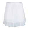 CHRISSIE BY TAIL Women`s Mariela 14.5 Inch Tennis Skort White