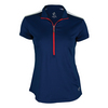 JOFIT Women`s Cosmopolitan Amped Tennis Polo Blue Depth