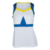 Women`s Alessandra Tennis Tank White by TAIL