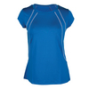 TAIL Women`s Hayden Cap Sleeve Tennis Top Nautical