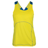 TAIL Women`s Lara Tennis Tank Sunshine