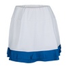 TAIL Women`s Dahlia Tennis Skort White and Nautical