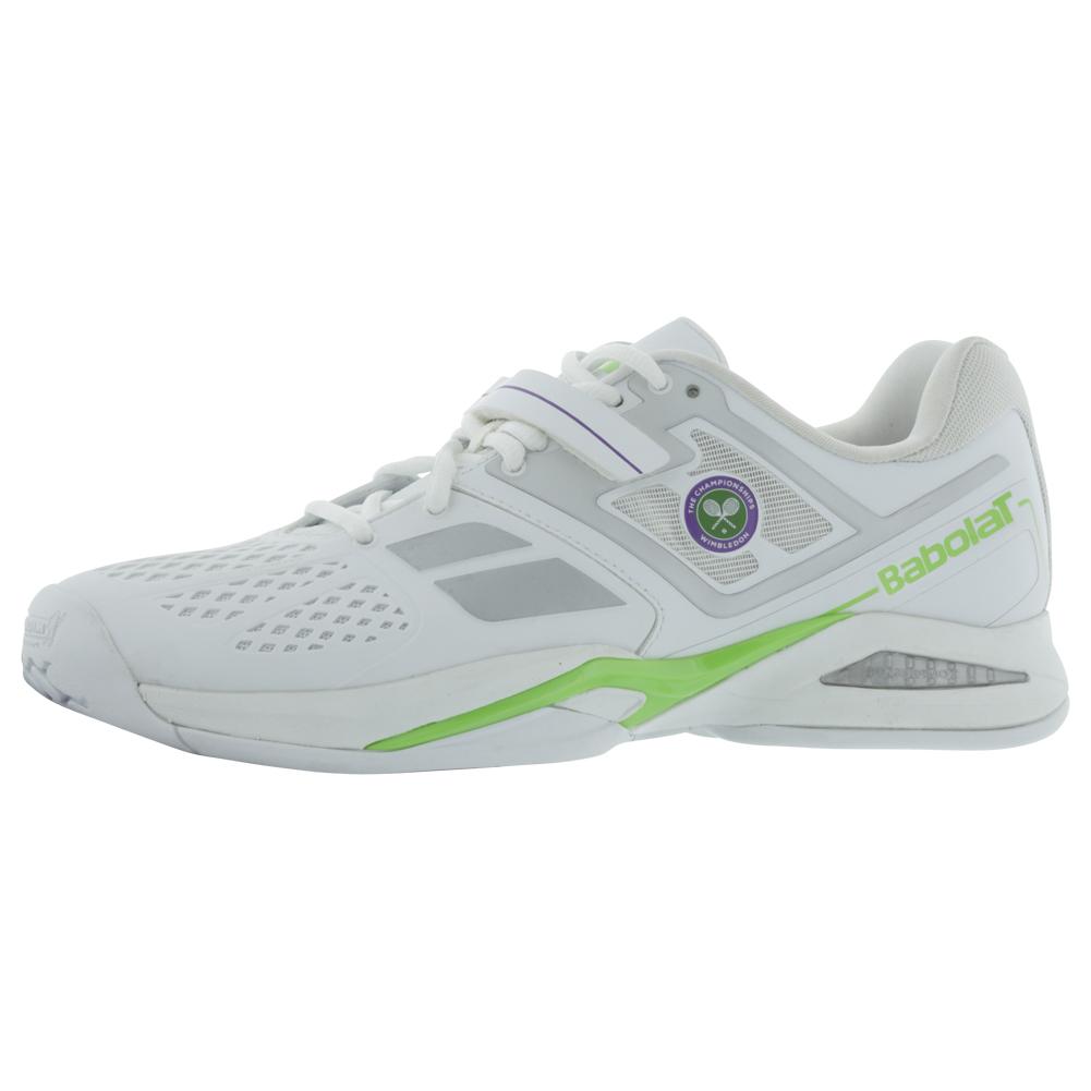 Men's Propulse Bpm Wimb Tennis Shoes White And Green