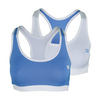 WILSON Women`s Reversible Tennis Bra White and Peri