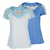 WILSON Women`s Flirty Cap Sleeve Tennis Top