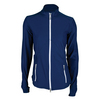 JOFIT Women`s Cosmopolitan Tipped Thumbs Tennis Jacket Blue Depth