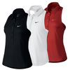 NIKE Women`s Advantage Sleeveless Tennis Polo