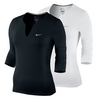 NIKE Women`s Pure Long Sleeve Tennis Top