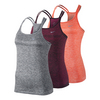 NIKE Women`s Dri-Fit Knit Strappy Running Tank