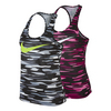 NIKE Women`s Legend Racerback All Over Print Swoosh Training Tank