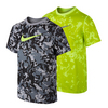 NIKE Boys` Legend Allover Camo Tee