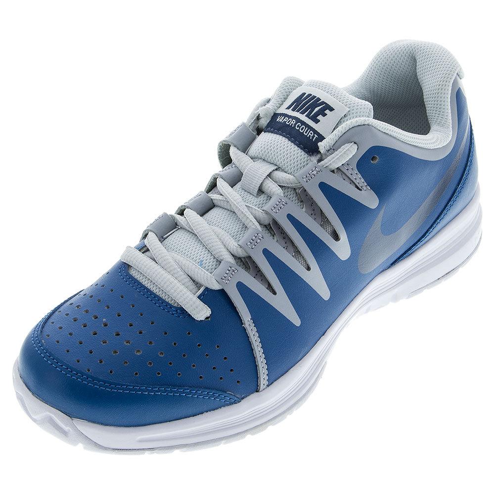 nike mens vapor court tennis shoes bl plat