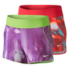 NIKE Girls` Knit Allover Print 3 Inch Short