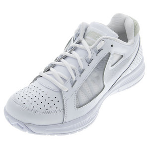 NIKE WOMENS AIR VAPOR ACE TENNIS SHOES WH/BON