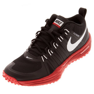 Men`s Lunar TR1 Training Shoes Black and University Red