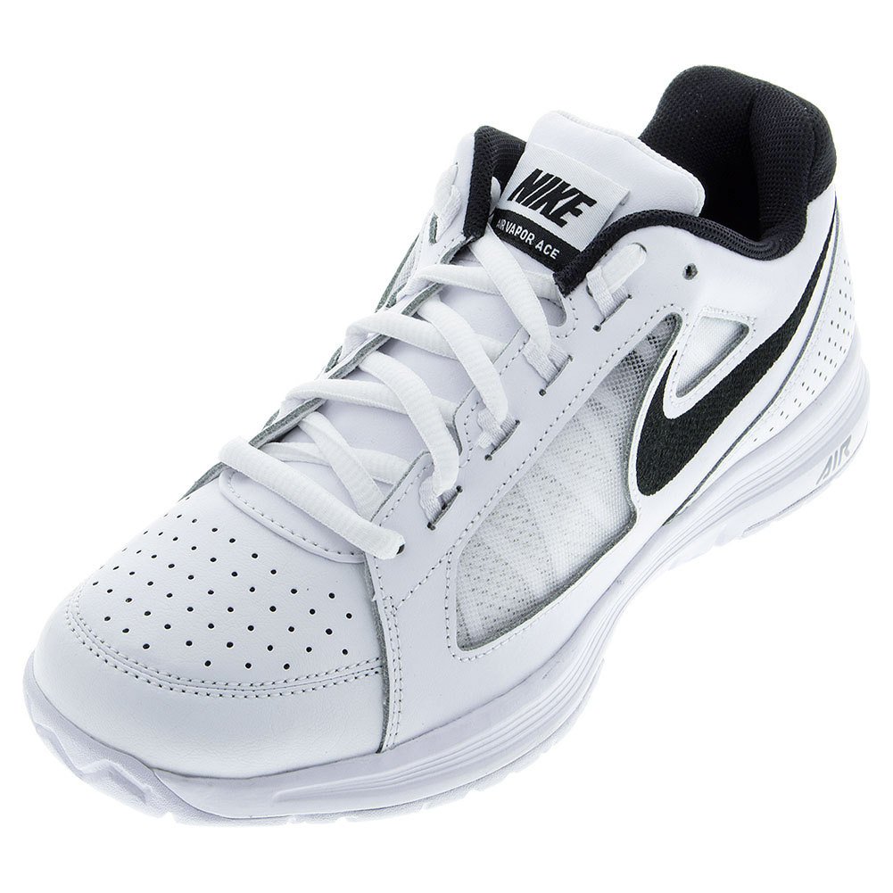 Men's Air Vapor Ace Tennis Shoes White And Black